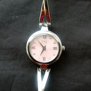 ESQ By Movado - Ladies Sienna Pink Diamond Watch